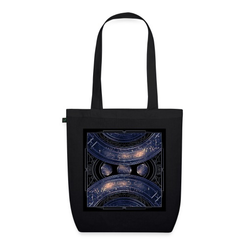 Universe outer space blue outer space galaxy art - EarthPositive Tote Bag
