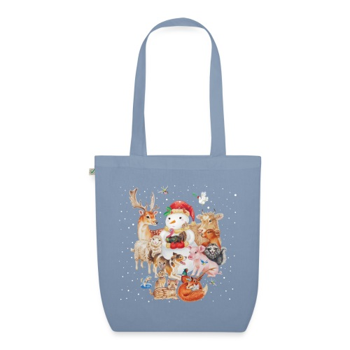 winter animals tas - EarthPositive Tote Bag
