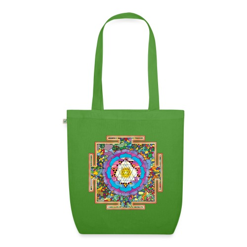buddhist mandala - EarthPositive Tote Bag
