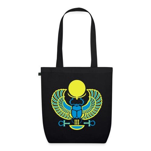 Geflügelter Skarabäus I Hieroglyphen - Bio-Stoffbeutel