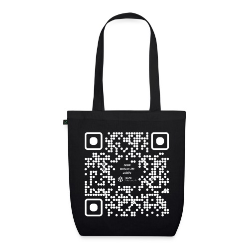 QR The New Internet Should not Be Blockchain Based W - EarthPositive Tote Bag