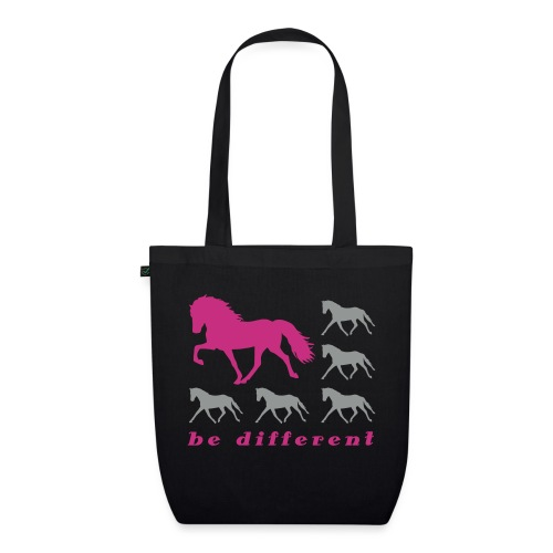 Be Different grey - Bio-Stoffbeutel