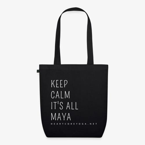Heartcore Yoga 'It's All Maya 2' - Bio stoffen tas