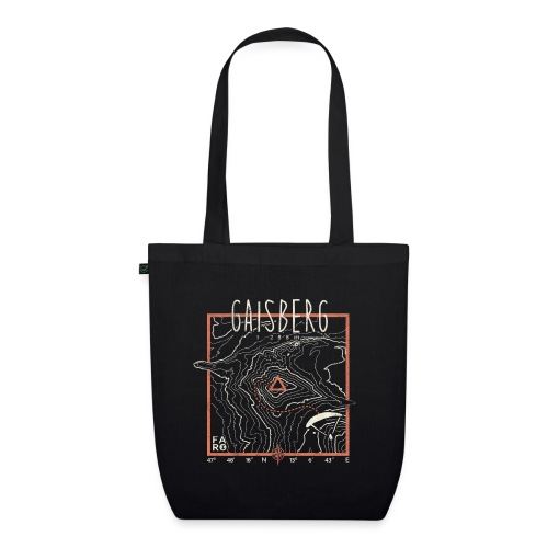 Gaisberg Paragliding - Contour Lines - EarthPositive Tote Bag