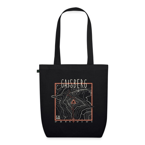 Gaisberg Hike - Contour Lines - EarthPositive Tote Bag