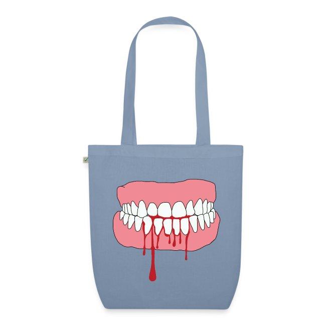 Bita av tänder png
