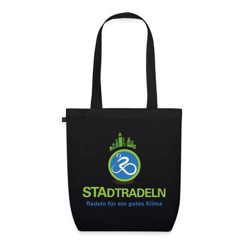 STAdtradeln Logo quadratisch Pixel - Bio-Stoffbeutel