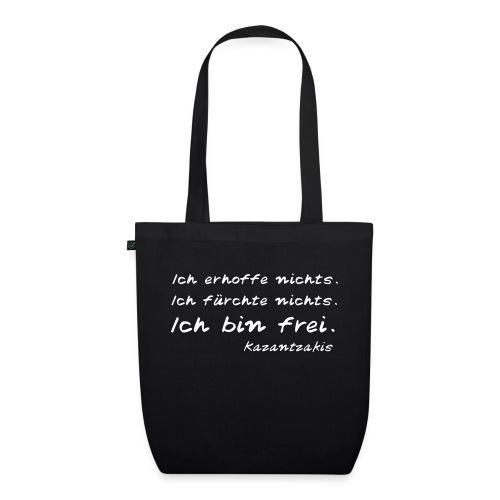 Kazantzakis - Ich bin frei! - Bio-Stoffbeutel