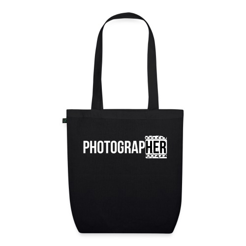 Photographing-her - EarthPositive Tote Bag