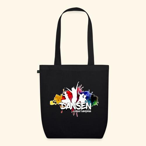 Dansen ColorSplash - Ekologisk tygväska