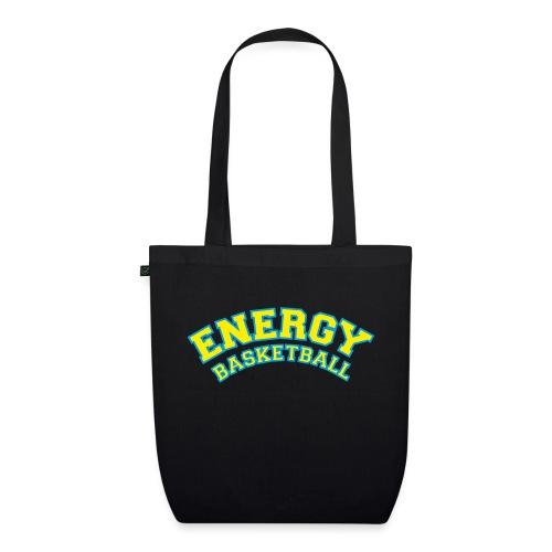 street wear logo giallo energy basketball - Borsa ecologica in tessuto