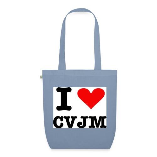 I love CVJM - Bio-Stoffbeutel