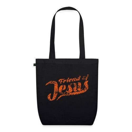 Friend of Jesus orange - Bio-Stoffbeutel