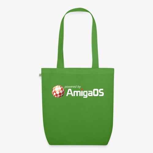 PoweredByAmigaOS white - EarthPositive Tote Bag