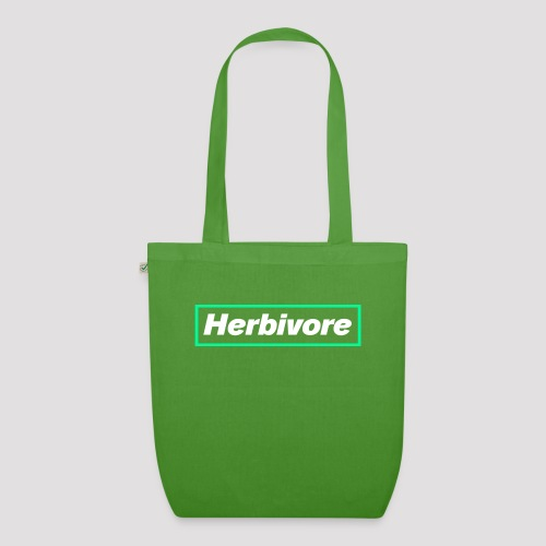 Herbivore Logo White - Borsa ecologica in tessuto