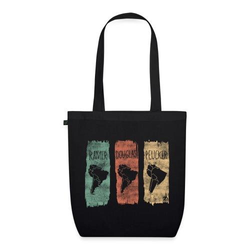 Ramer-Douglas-Peucker Stripes - South America - EarthPositive Tote Bag