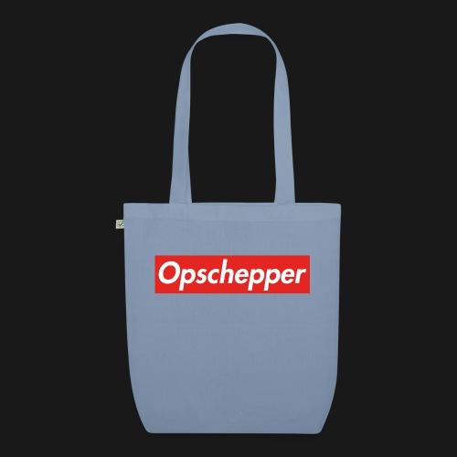 Opschepper Classic (Rood) - Bio stoffen tas