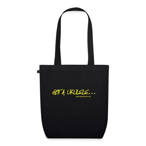 Official Got A Ukulele website t shirt design - EarthPositive Tote Bag