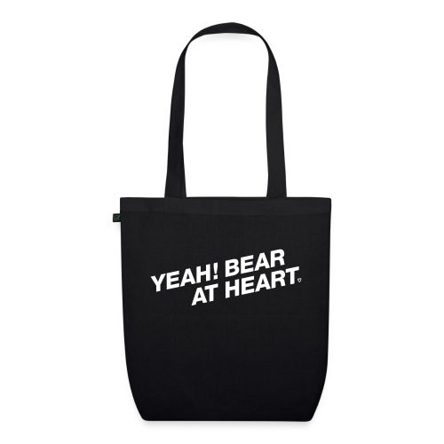Yeah Bear at Heart #2 - Bio-Stoffbeutel
