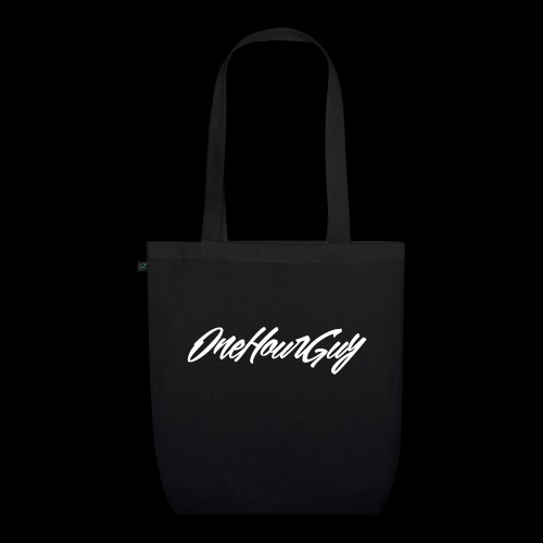 OneHourGuy Logo Italic - EarthPositive Tote Bag