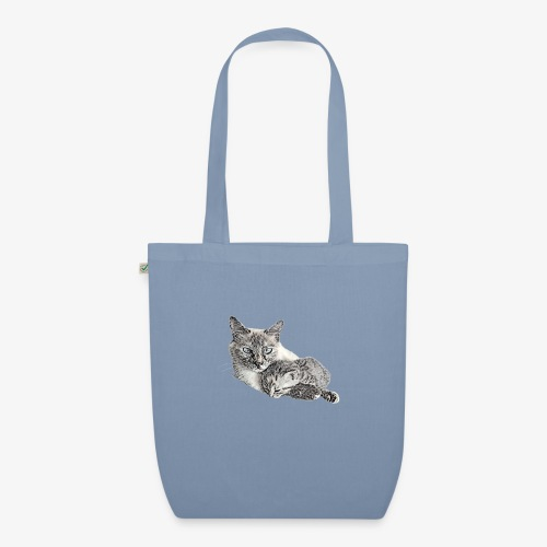 Snow and her baby - EarthPositive Tote Bag