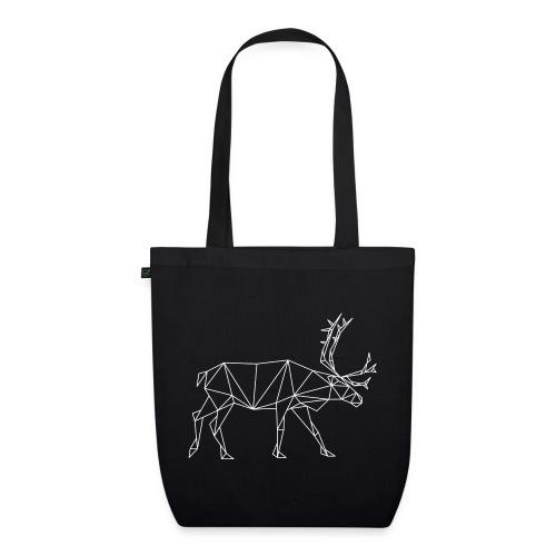 Geometric reindeer - EarthPositive Tote Bag