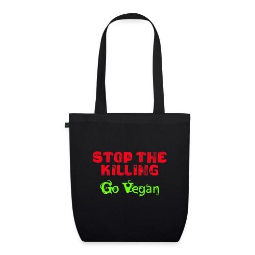 Stop The Killing - Go Vegan - Bio-Stoffbeutel