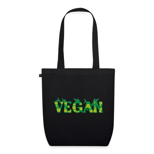 Vegan - Blumen - Bio-Stoffbeutel