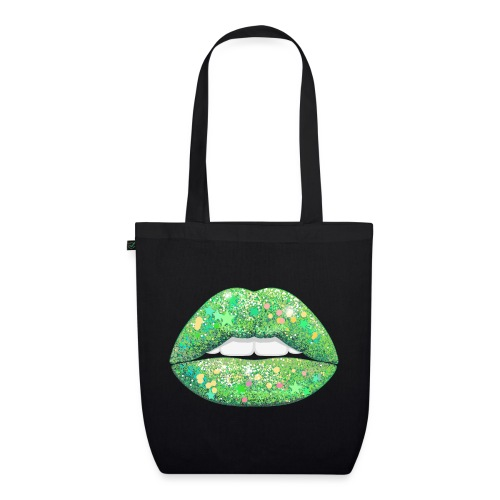 LIME SHIMMER - EarthPositive Tote Bag
