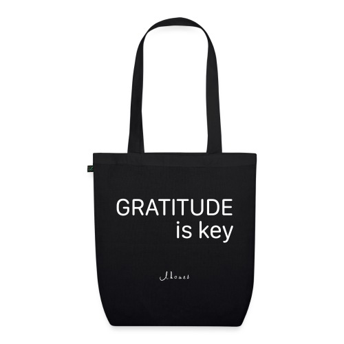 GRATITUDE is key - EarthPositive Tote Bag