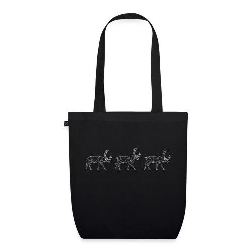 Reindeers - EarthPositive Tote Bag