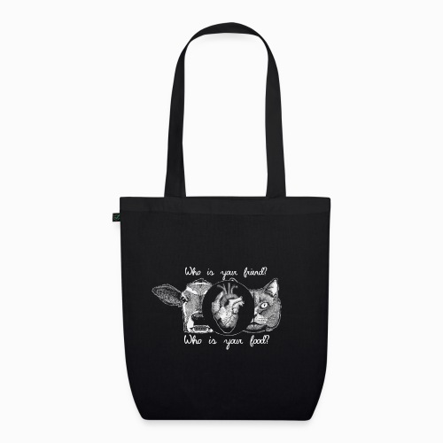 Friends not food - EarthPositive Tote Bag