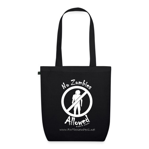 No Zombies Allowed (W) - EarthPositive Tote Bag