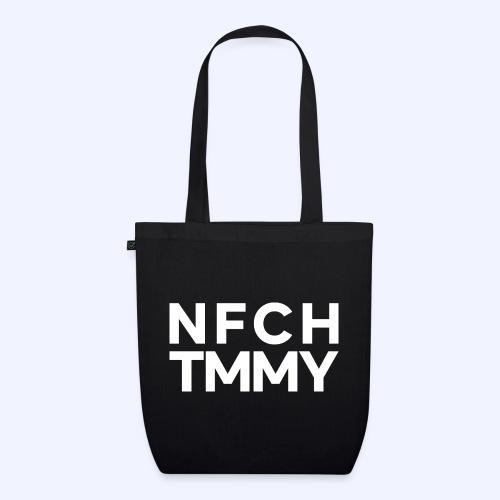 Einfach Tommy / NFCHTMMY / White Font - Bio-Stoffbeutel