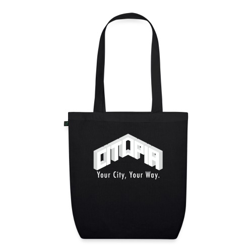 Logo with Slogan - EarthPositive Tote Bag
