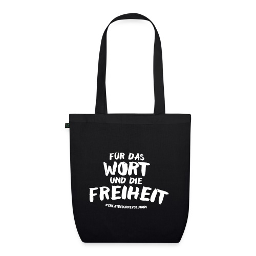 For the word and freedom - EarthPositive Tote Bag