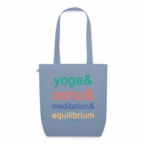 Yoga& Osho& Meditation& Equilibrium - EarthPositive Tote Bag