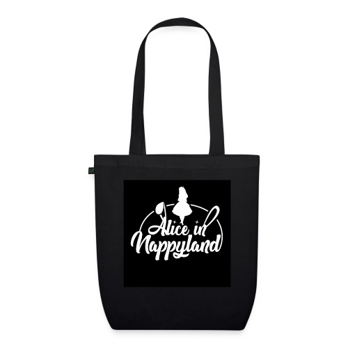 Alice in Nappyland TypographyWhite 1080 - EarthPositive Tote Bag