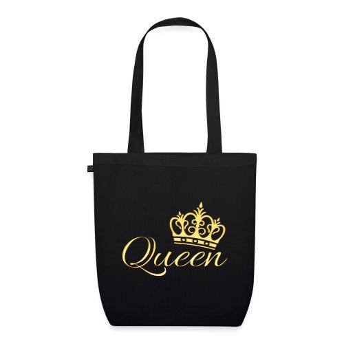 Queen Or -by- T-shirt chic et choc - Sac en tissu biologique