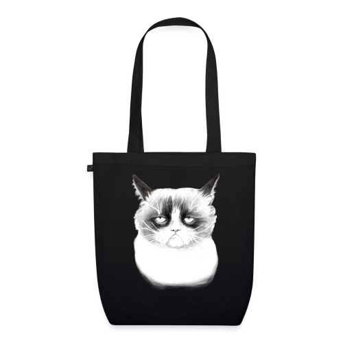 Grumpy Cat - EarthPositive Tote Bag