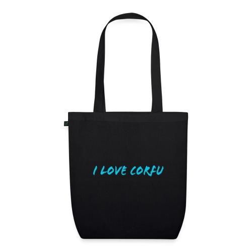 I Love Corfu Griechenland - Bio-Stoffbeutel
