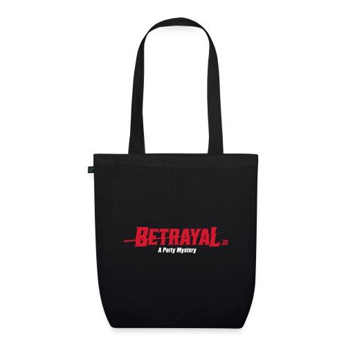 00419 Betrayal logo blanco - Bolsa de tela ecológica
