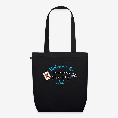 welcome to racing joking club style by D[M] - Sac en tissu biologique