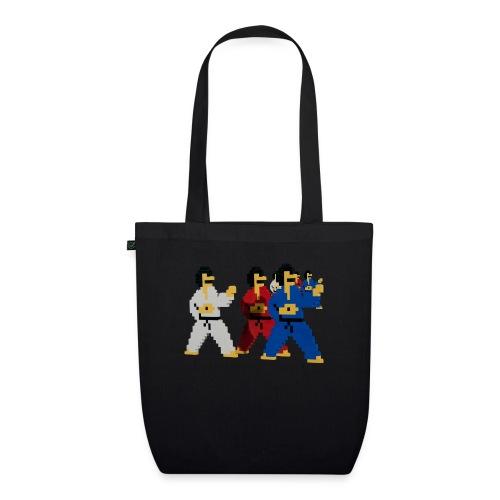 8 bit trip ninjas 1 - EarthPositive Tote Bag