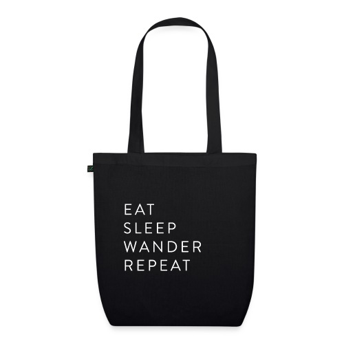 Eat Sleep Wander Repeat - EarthPositive Tote Bag