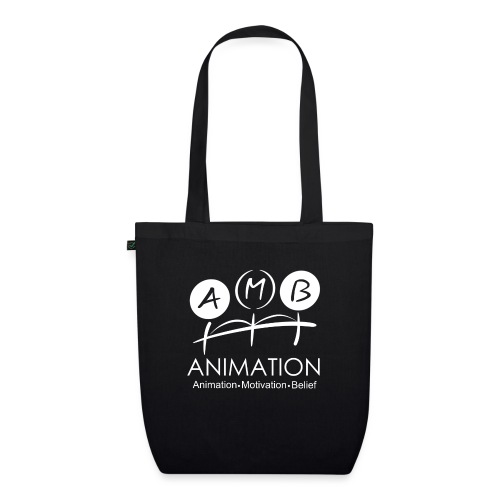 AMB Logo Animation Motivation Belief - EarthPositive Tote Bag
