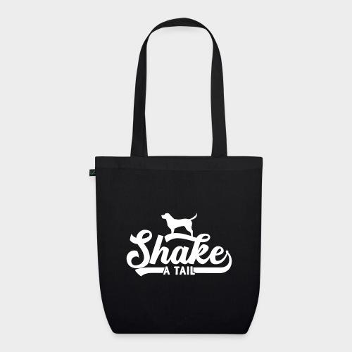 Shake a Tail - Lustiger Hundespruch Hundeliebe - Bio-Stoffbeutel