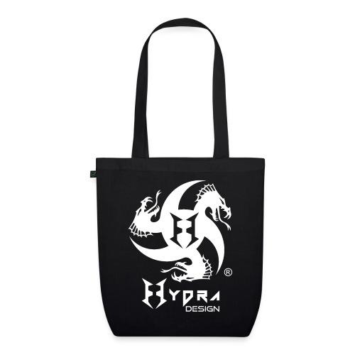 Hydra DESIGN - logo white - Borsa ecologica in tessuto
