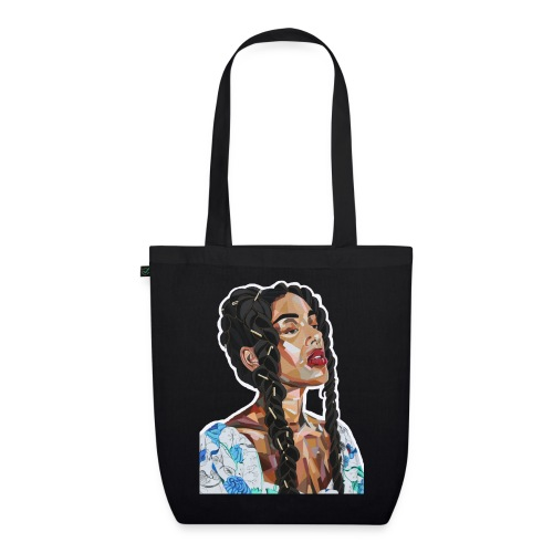 Black Rapunzel - EarthPositive Tote Bag