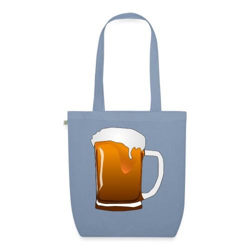 Cartoon Bier Geschenkidee Biermaß - Bio-Stoffbeutel